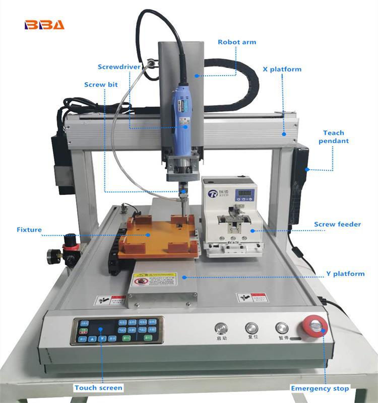Robot Screwdriver machine