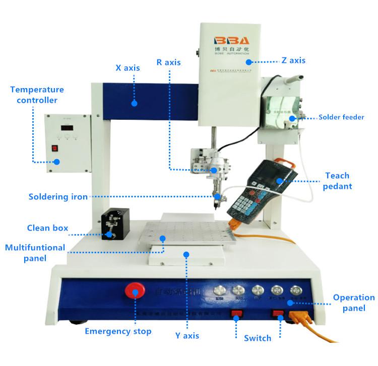 soldering machine desktop type