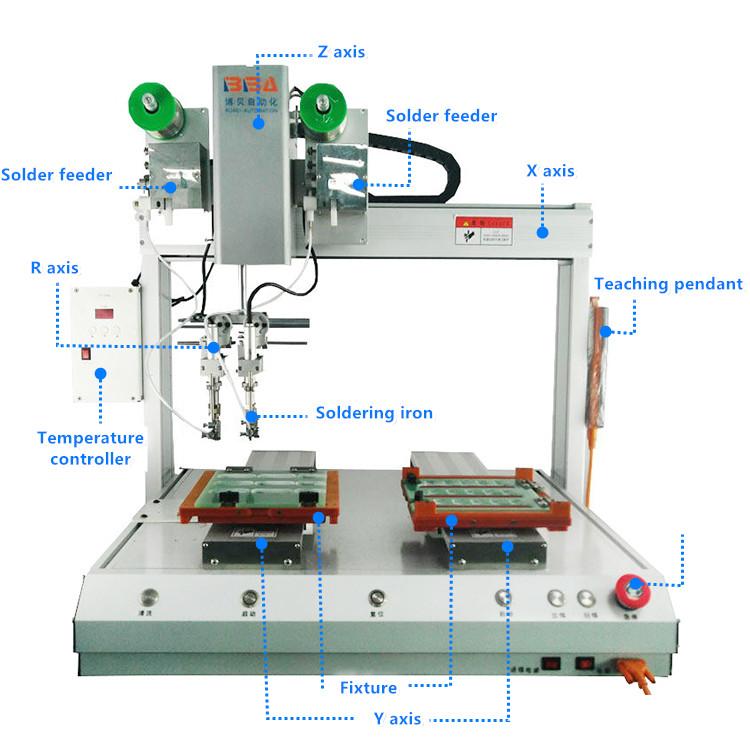 industrial soldering machiine